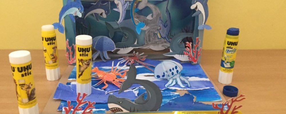 3.C soutěží v projektu Ocean World