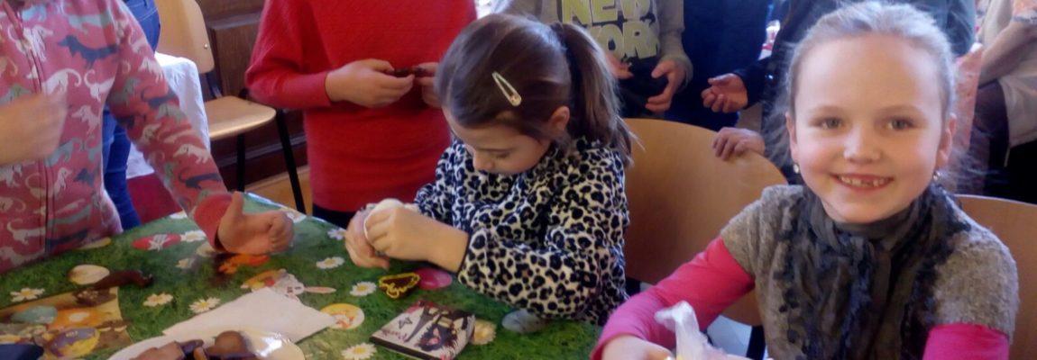 Žáci navštívili Velikonoční výstavu