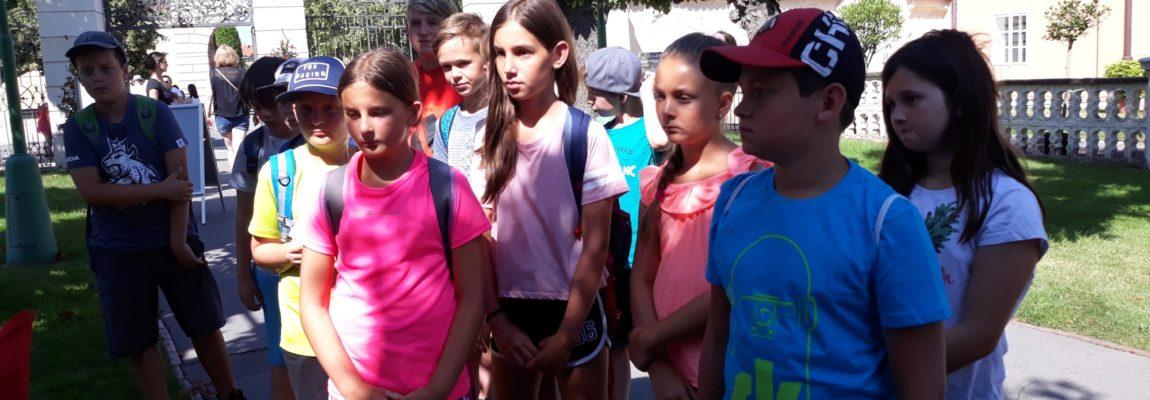 Poslední vlastivědný výlet do Prahy v tomto školním roce