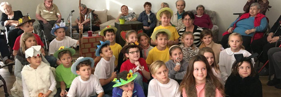 Žáci navštívili HEZKÉ DOMY