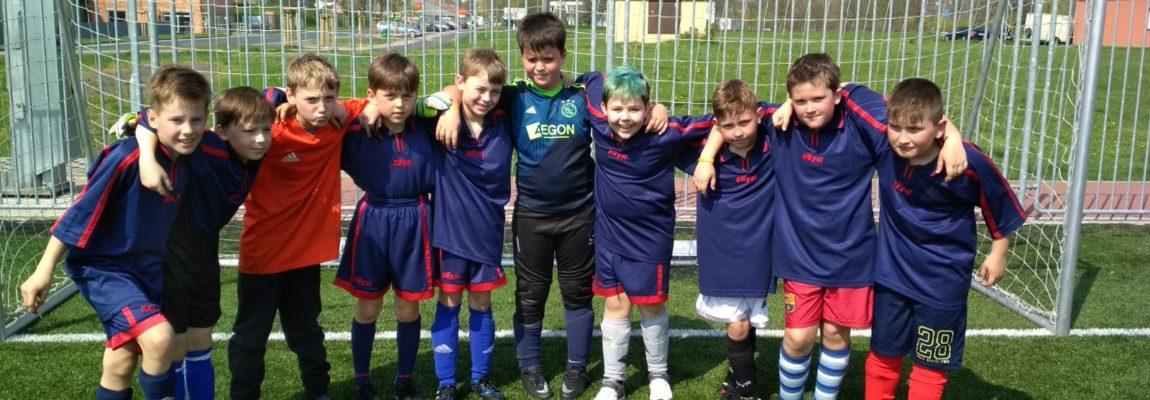 Fotbalisté reprezentovali školu