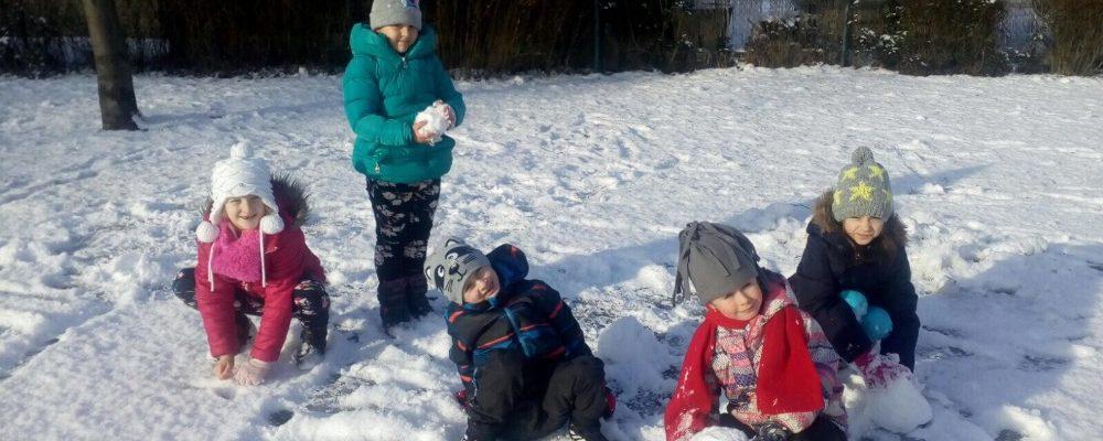 Užíváme sněhové nadílky